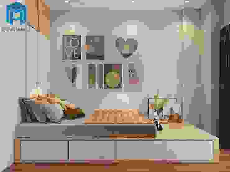 Phòng ngủ Master Phòng ngủ phong cách hiện đại bởi Công ty TNHH Nội Thất Mạnh Hệ Hiện đại