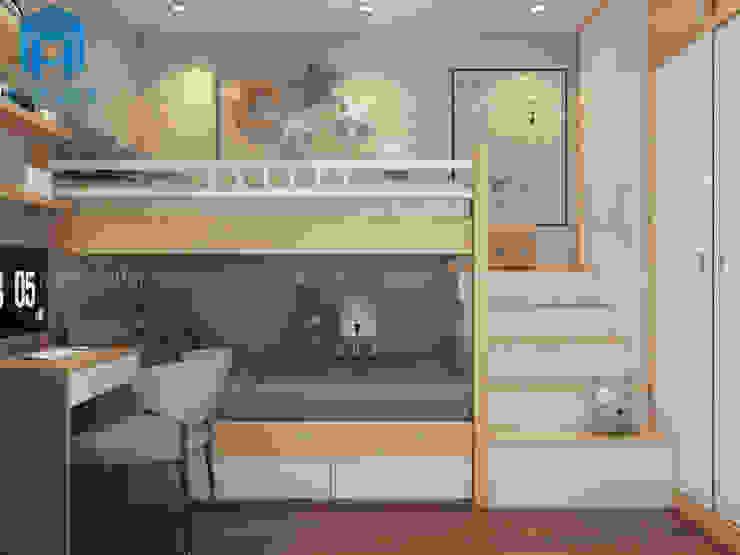 Phòng ngủ nhỏ Phòng trẻ em phong cách hiện đại bởi Công ty TNHH Nội Thất Mạnh Hệ Hiện đại
