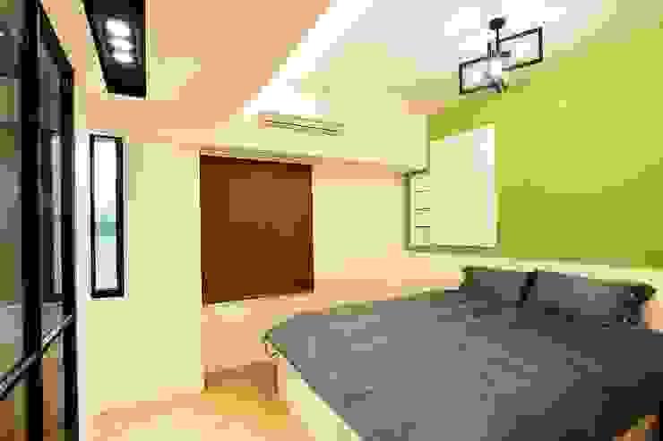 溫馨舒適的臥室:  臥室 by 奕禾軒 空間規劃 /工程設計, 現代風