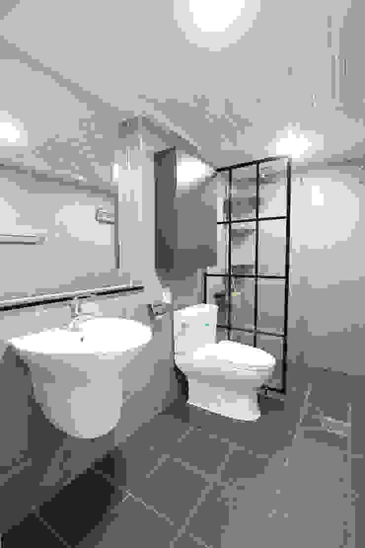 수원시 조원동 벽산블루밍 모던스타일 욕실 by 한 인테리어 디자인 모던