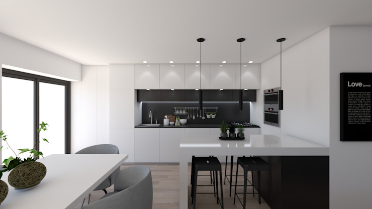 Cuisine moderne par DR Arquitectos Moderne