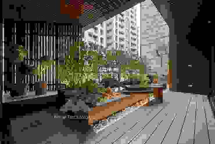 和風デザインの テラス の 新綠境實業有限公司 和風 木材・プラスチック複合ボード