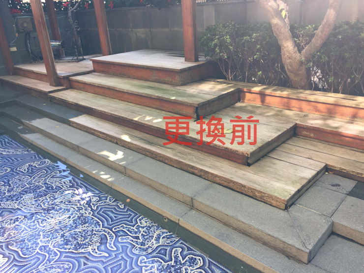 台北市─蒙特梭利幼兒園 根據 新綠境實業有限公司 北歐風 塑木複合材料