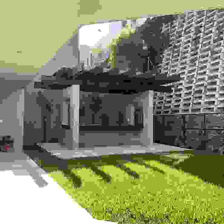 de RFoncerrada arquitectos Moderno Madera maciza Multicolor