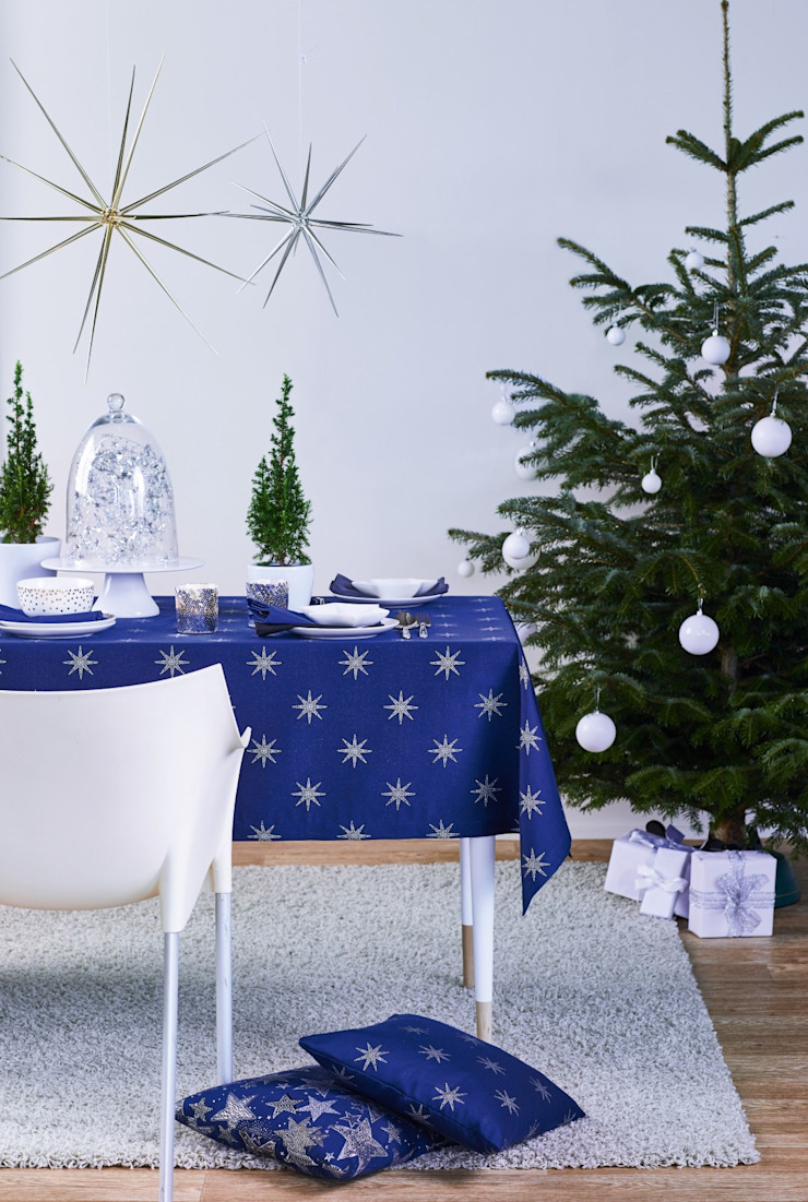 Alfred Apelt GmbH Ruang Makan Modern Blue
