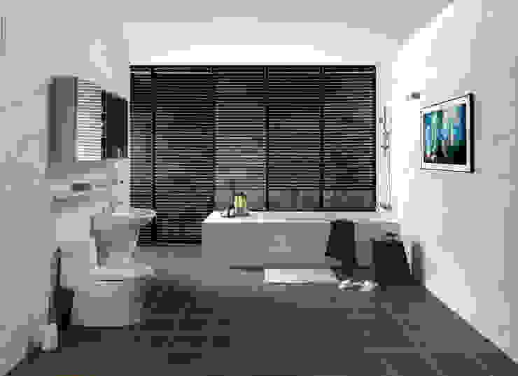 이누스바스 부띠끄마블 욕실 인테리어 모던스타일 욕실 by inus 모던