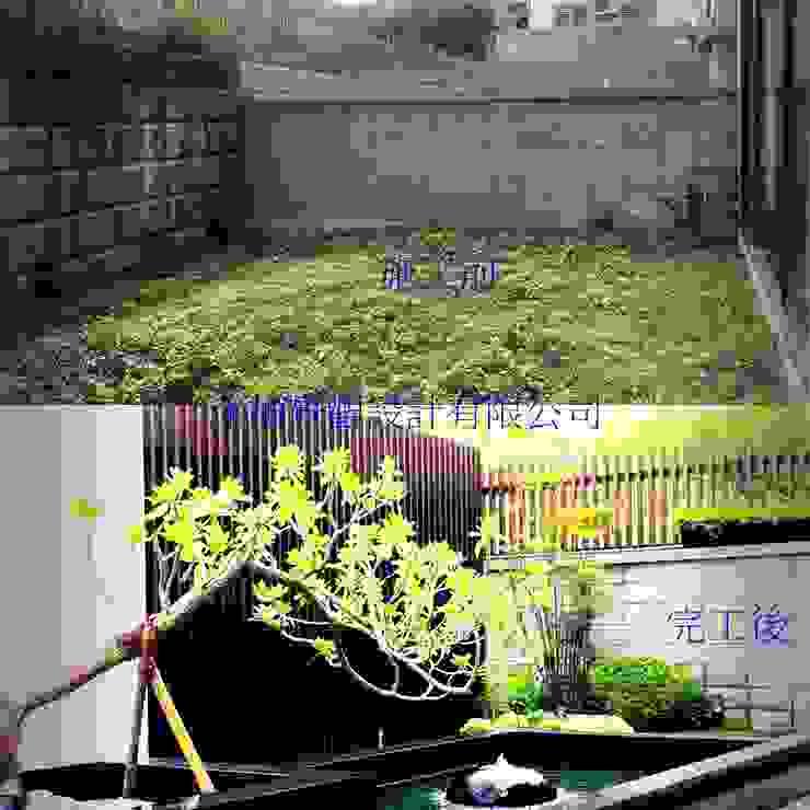 新竹風城庭園景觀 施工前後比3: 鄉村  by 沐頡景觀設計公司, 田園風