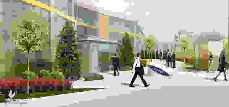 ULUDAĞ KOLEJİ Peyzaj Projelendirme & Landscaping Project konseptDE Peyzaj Fidancılık Tic. Ltd. Şti. Modern