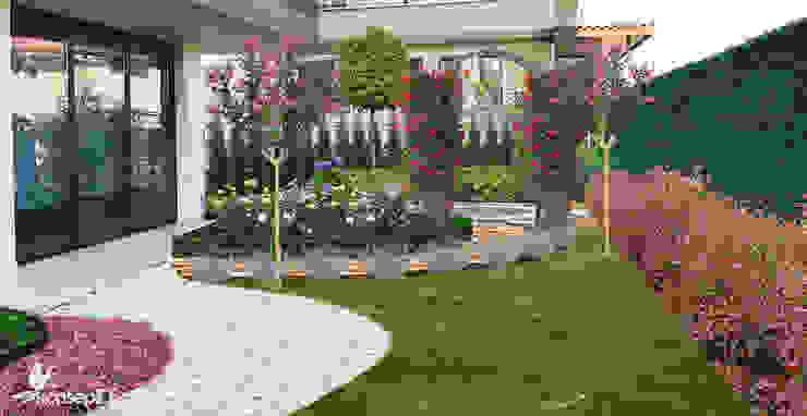 Z.H KONUTU Peyzaj Projelendirme & Landscaping Project Klasik Bahçe konseptDE Peyzaj Fidancılık Tic. Ltd. Şti. Klasik