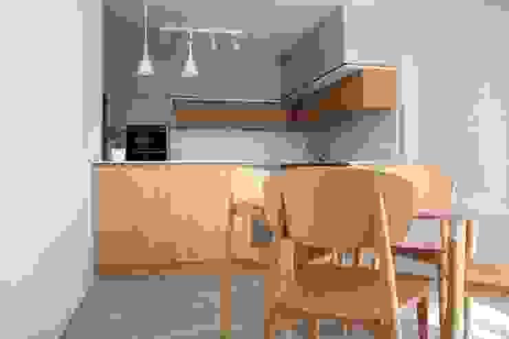 COZINHA I Atelier OSO Cozinhas modernas Derivados de madeira Acabamento em madeira