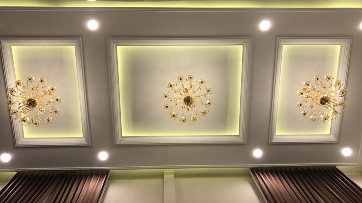 Desain Ceiling Koridor & Tangga Modern Oleh PT. Leeyaqat Karya Pratama Modern