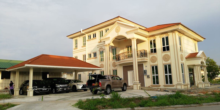 PT. Leeyaqat Karya Pratama Single family home Amber/Gold