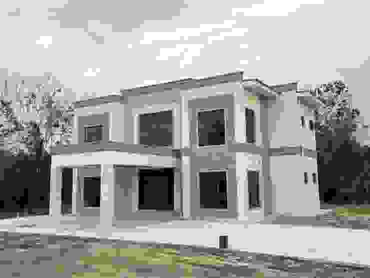 Exterior Rumah Oleh PT. Leeyaqat Karya Pratama Modern