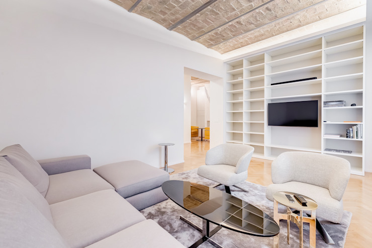 Гостиная в стиле модерн от EF_Archidesign Модерн