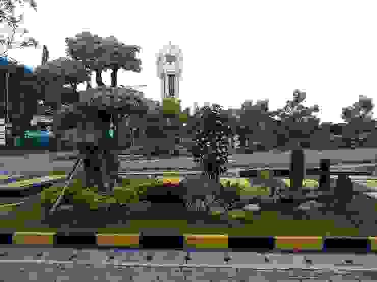 Tukang taman gresik Ruang Komersial Minimalis Oleh Jasa tukang taman gresik Minimalis Bambu Green