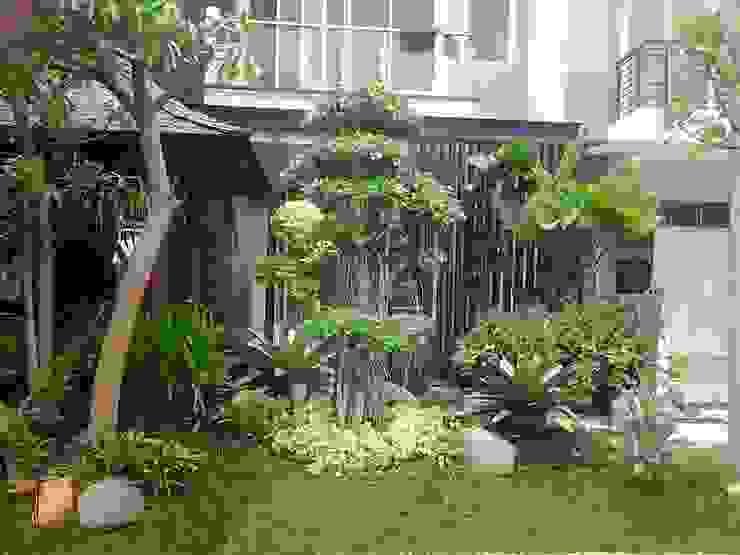 jasa tukang taman di gresik Ruang Komersial Minimalis Oleh Jasa tukang taman gresik Minimalis Bambu Green