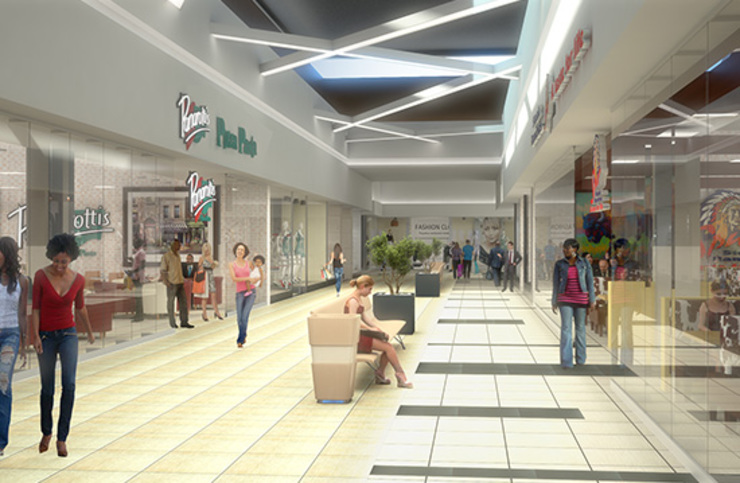 Imported and supplied Thavani mall with tiles by Italian Vibes PTY Minimalist