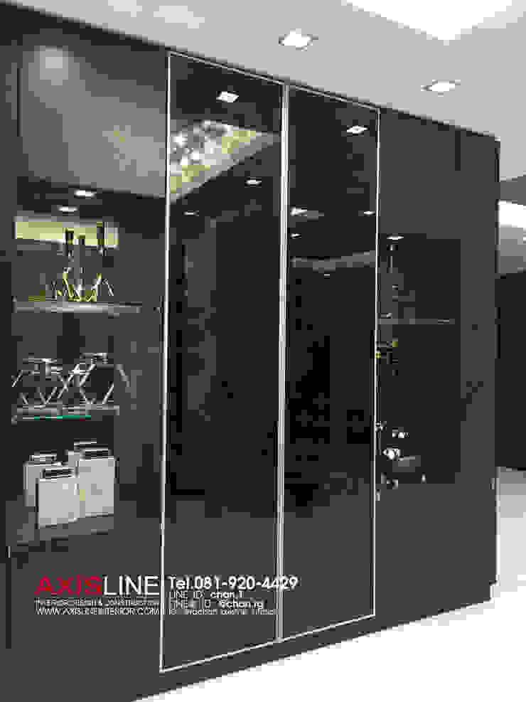 ภาพบรรยากาศถ่ายทำ รายการ Open House by AXISLINE Interior: ทันสมัย  โดย บริษัทแอคซิสลาย จำกัด, โมเดิร์น