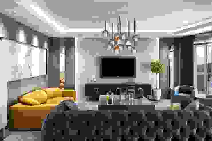 Salon tasarım Modern Oturma Odası ANTE MİMARLIK Modern