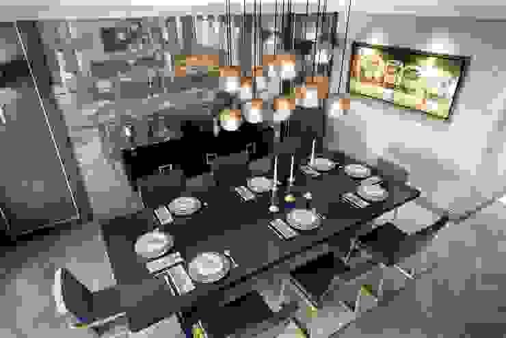 Aynalar Modern Yemek Odası ANTE MİMARLIK Modern