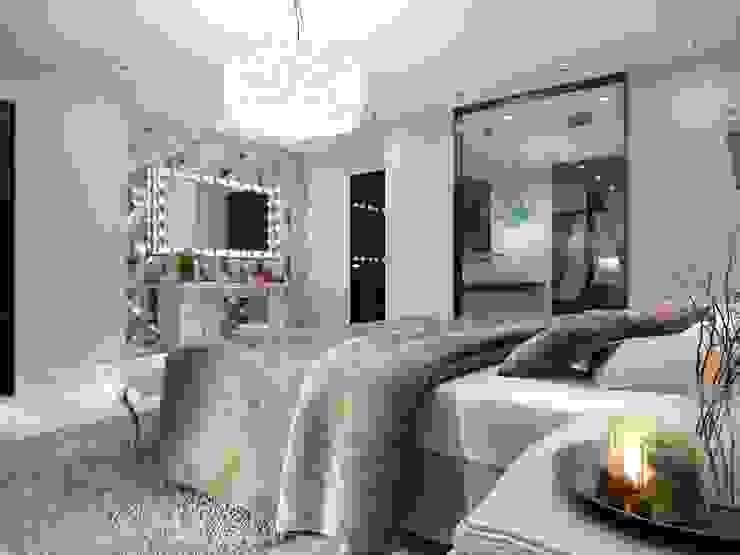 Makyaj masası Modern Yatak Odası ANTE MİMARLIK Modern