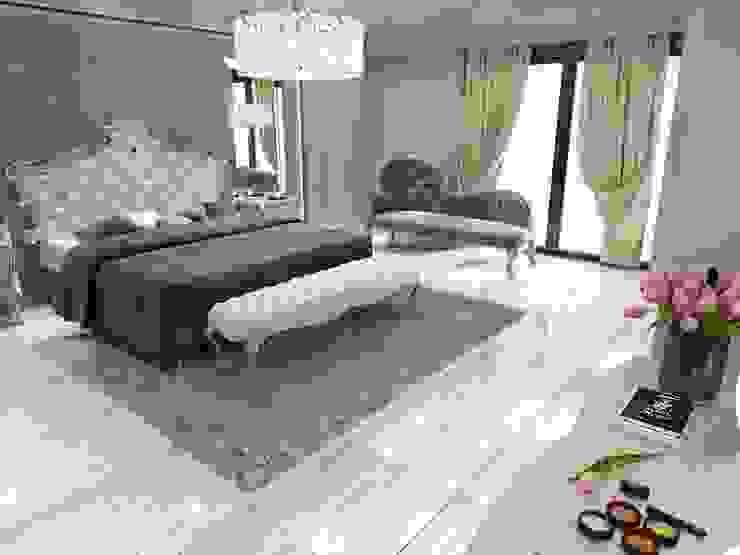 ANTE MİMARLIK  – Yatak odası tasarım: modern tarz , Modern