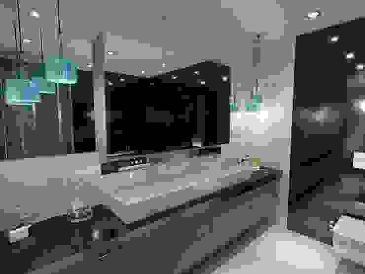 Banyo aydınlatma Modern Banyo ANTE MİMARLIK Modern