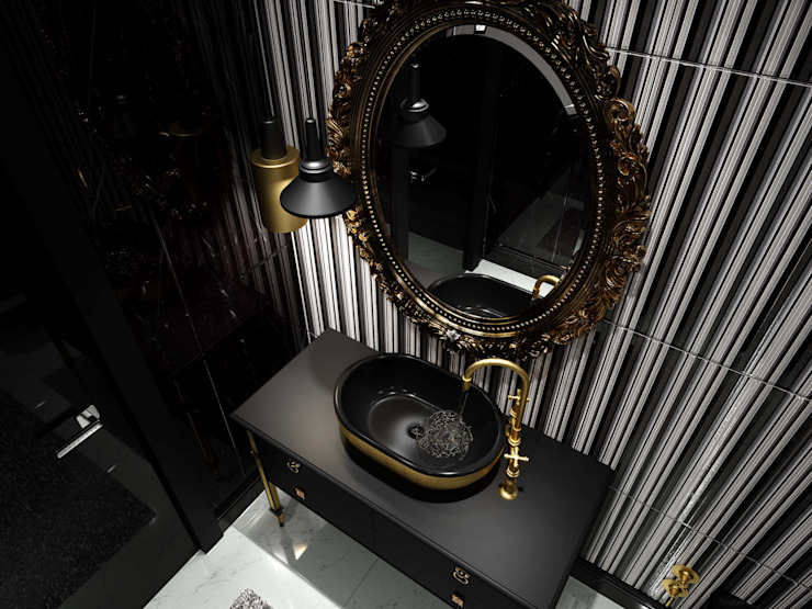 Aynalar Modern Banyo ANTE MİMARLIK Modern