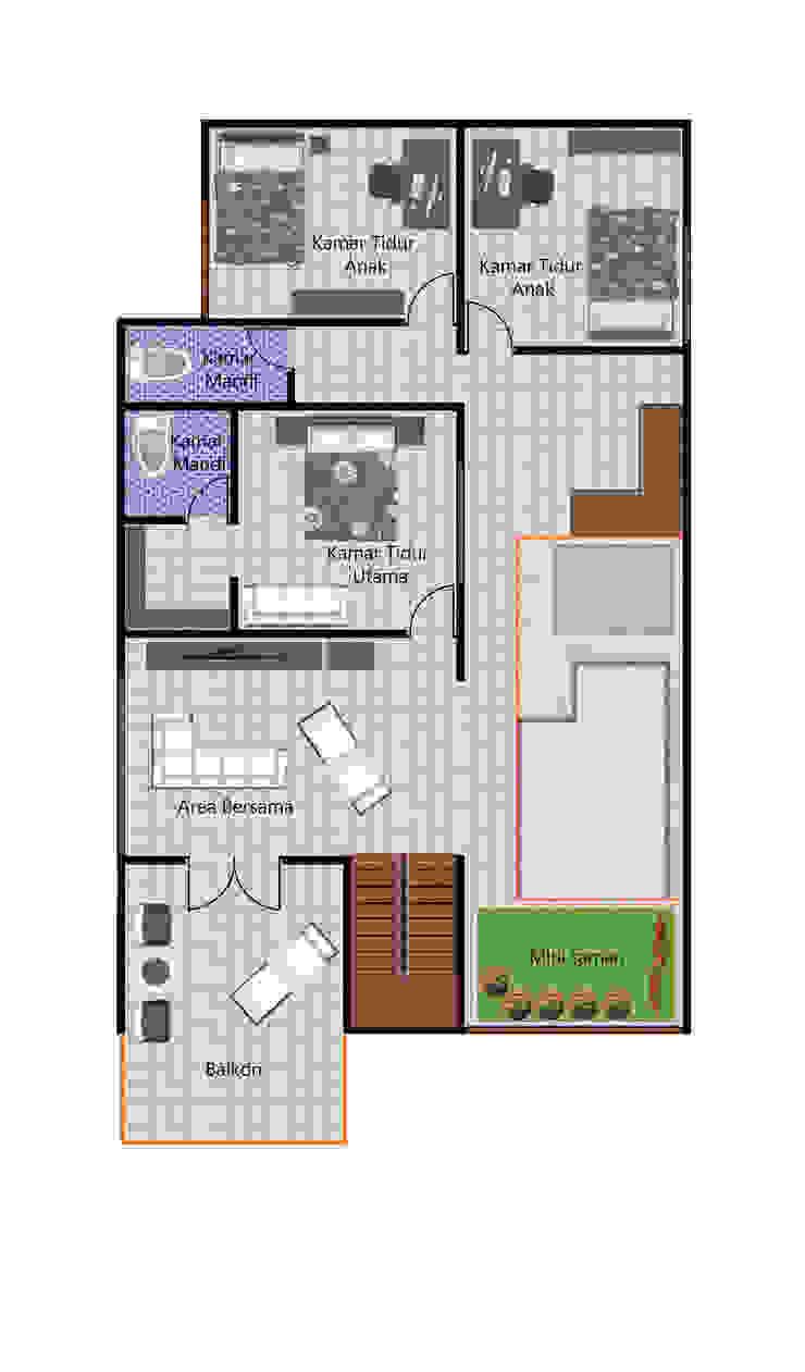 A. Rumah Bp. Heri Sandro Oleh Tropical Urban Design Studio