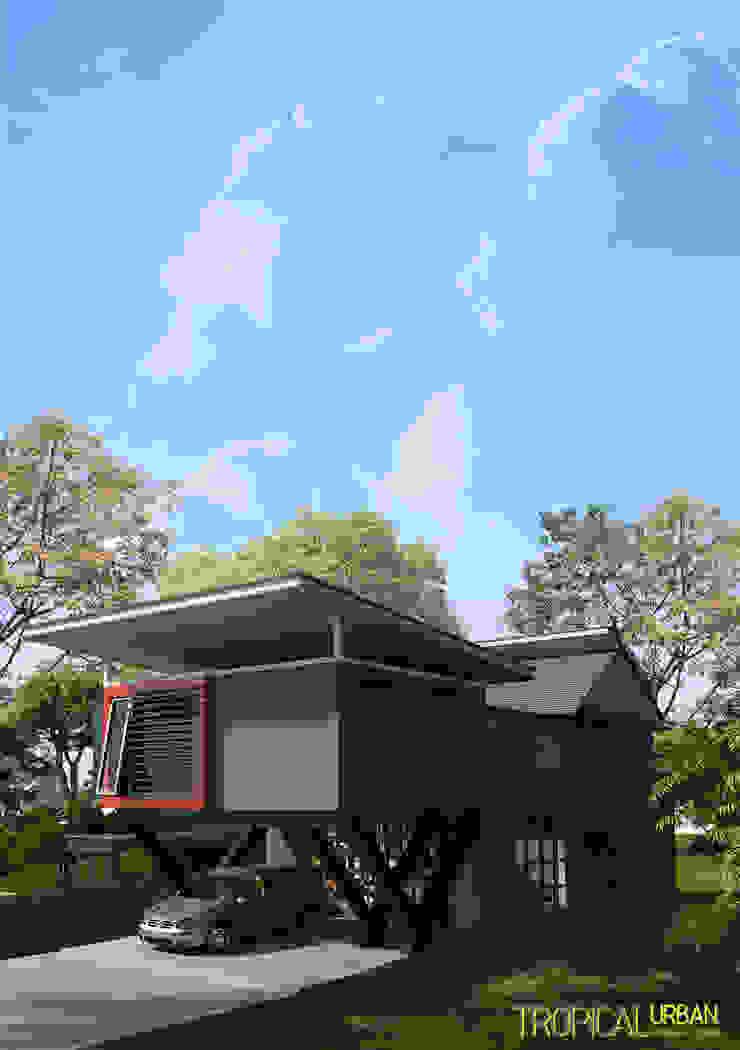 B. Rumah Bp.Kurniawan Oleh Tropical Urban Design Studio