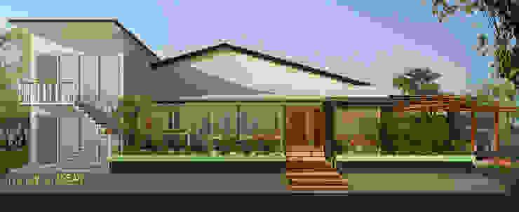 Cafe sintang Bp. Yanda Oleh Tropical Urban Design Studio