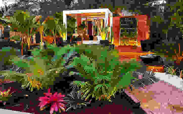 CASACOR 2017: Jardines de estilo  por Marcia Lenz Paisajismo,