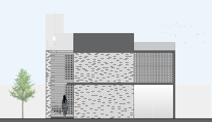 Fachada. de Creer y Crear. Arquitectura/Diseño/Construcción