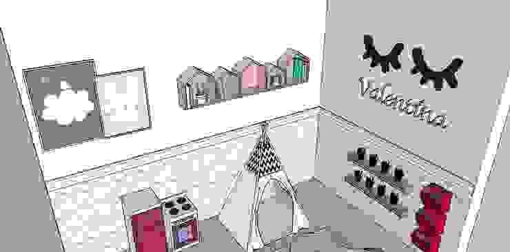 G.F Studio Design Girls Bedroom Pink