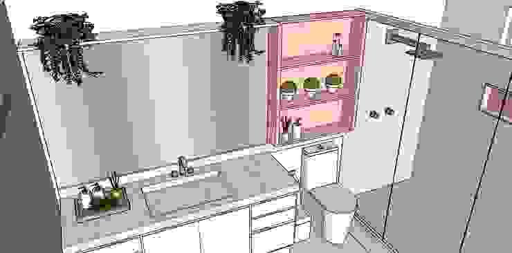 G.F Studio Design Modern Bathroom