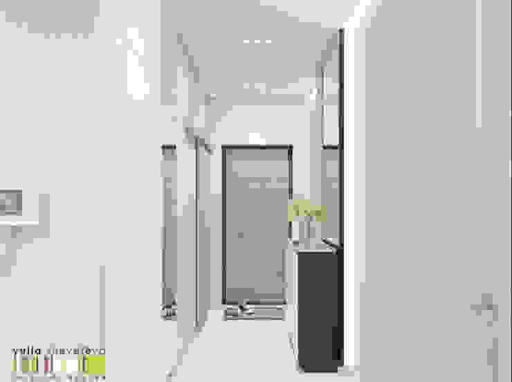 隨意取材風玄關、階梯與走廊 根據 Мастерская интерьера Юлии Шевелевой 隨意取材風