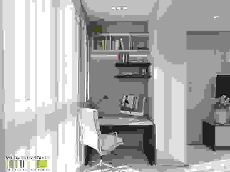 Дом у парка Мастерская интерьера Юлии Шевелевой Спальня в эклектичном стиле