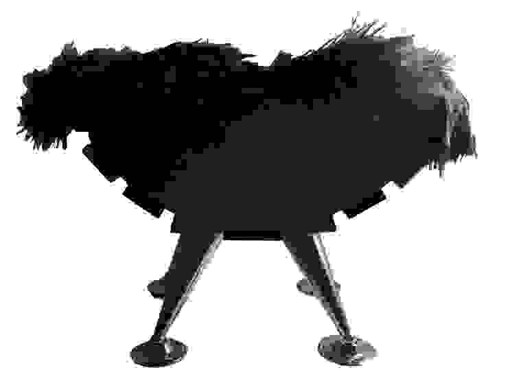 CAMA NÓRDICA de maskkotto Escandinavo Madera Acabado en madera