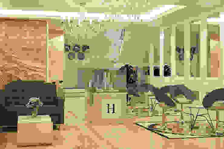 Marketing Gallery Area view 1 Bangunan Kantor Modern Oleh PT. Leeyaqat Karya Pratama Modern