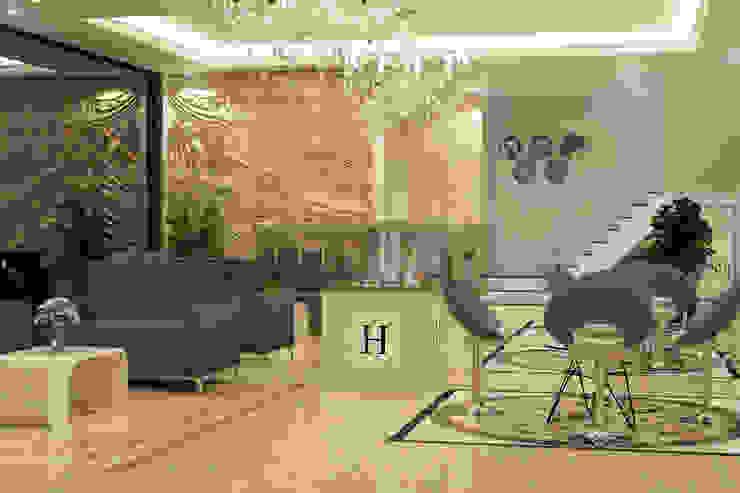 Marketing Gallery Area view 2 Bangunan Kantor Modern Oleh PT. Leeyaqat Karya Pratama Modern