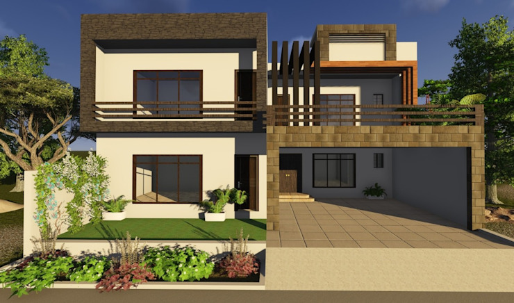 House Designs in Pakistan Modern houses by 4Design Modern