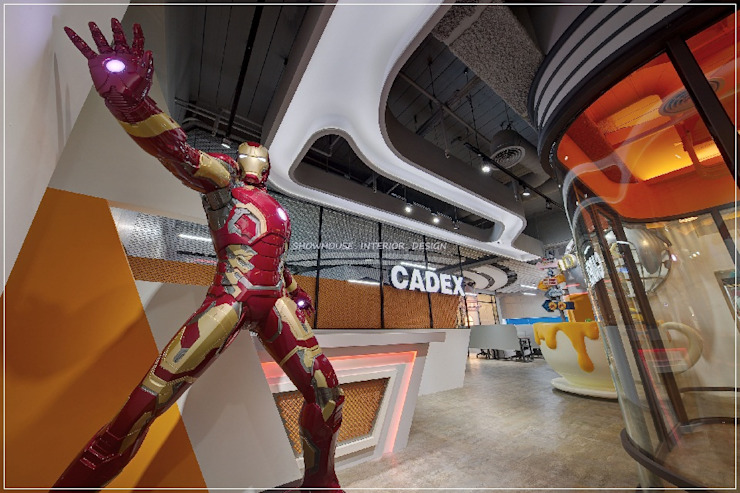 回到未來!環球影城3D奇幻科技工業風 根據 三宅一秀空間創藝有限公司 工業風