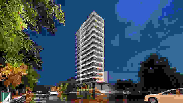 KHÁCH SẠN 15 TẦNG bởi Kiến trúc Việt Xanh