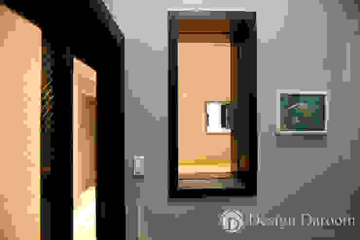 Modern corridor, hallway & stairs by Design Daroom 디자인다룸 Modern