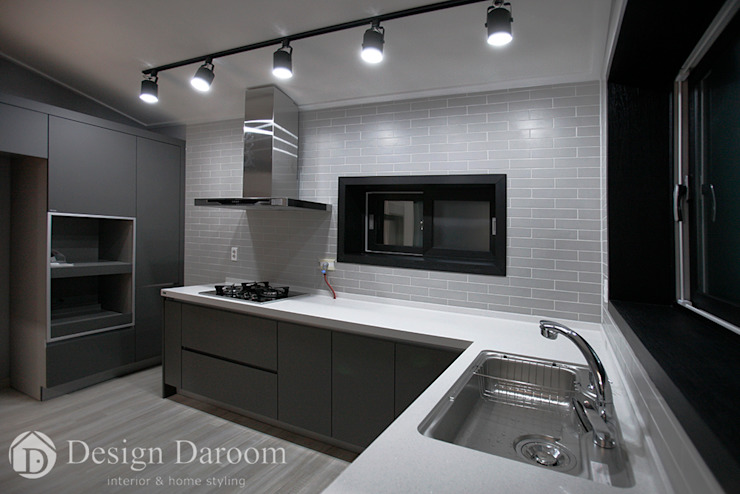 Modern kitchen by Design Daroom 디자인다룸 Modern