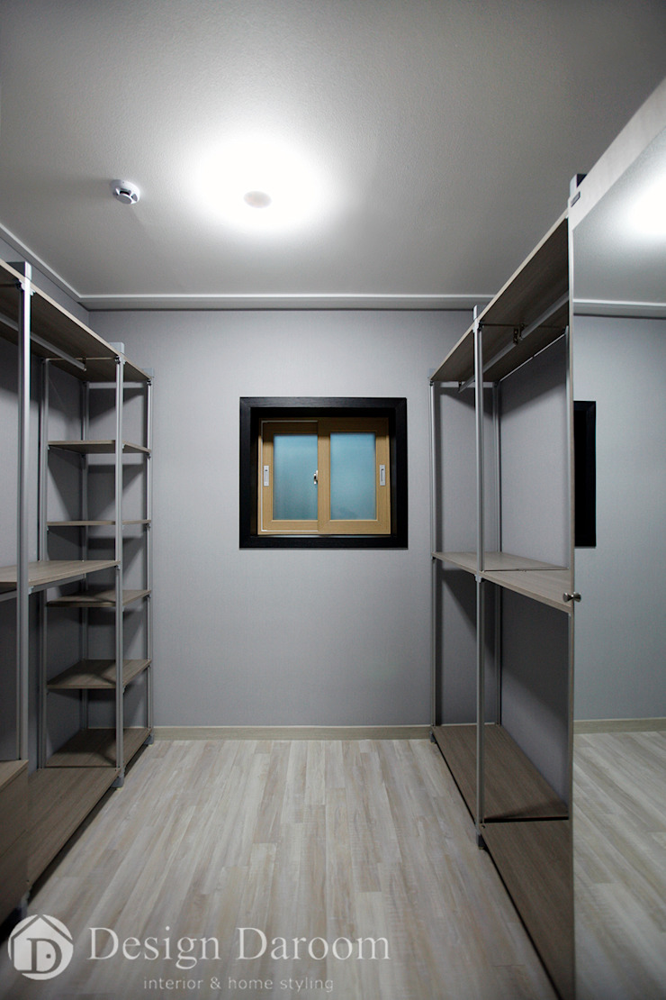 Modern dressing room by Design Daroom 디자인다룸 Modern