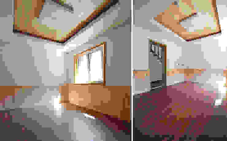 주택 내부 모던스타일 침실 by 더존하우징 모던