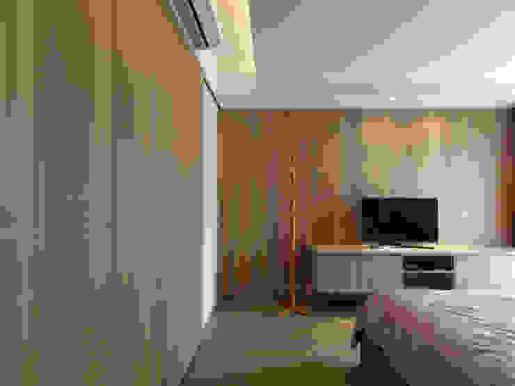 Scandinavian style bedroom by 中介空間設計 Scandinavian