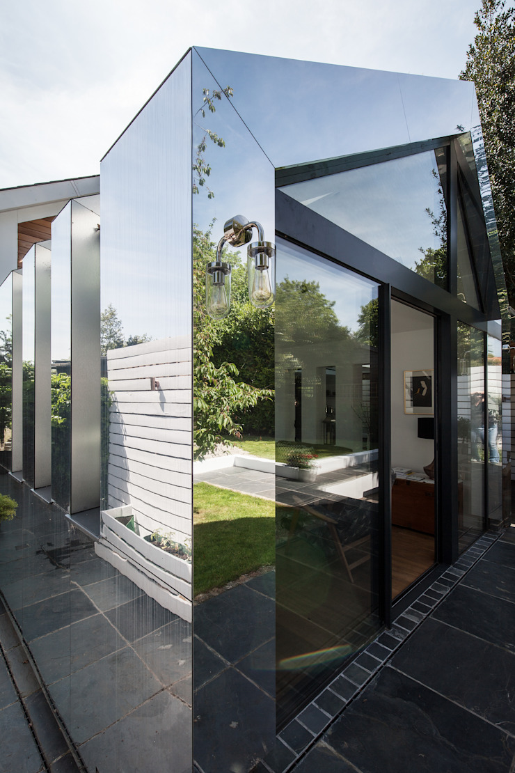 Mirror House Red Squirrel Architects Ltd Modern houses