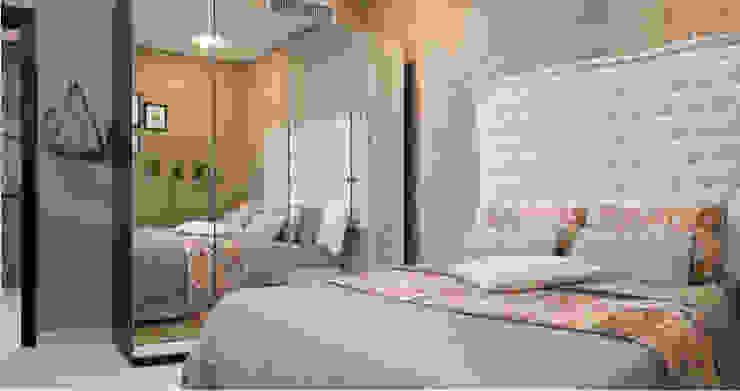 The Beige Bedroom Dormitorios de estilo clásico de Aorta the heart of art Clásico
